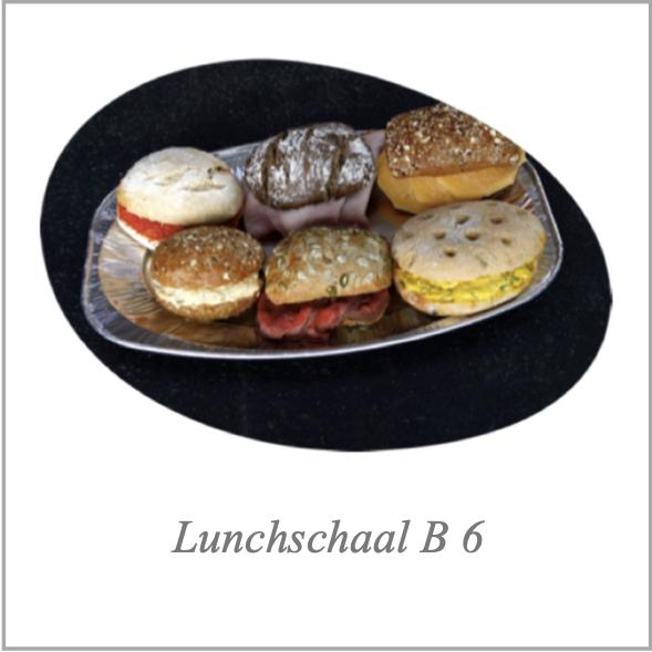 Lunchschaal B 6